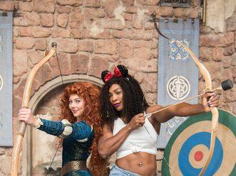 Tennis Star Serena Williams Meets Princess Merida at Walt Disney World Resort